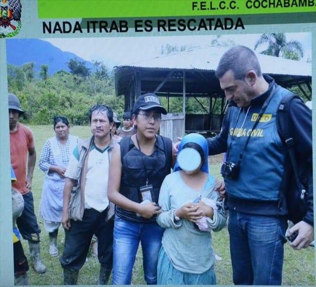 niña hospitalet rescatada bolivia